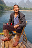 Our motorised bamboo raft driver