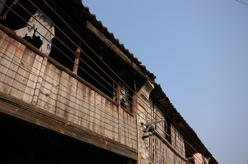 Balconies in Xingping