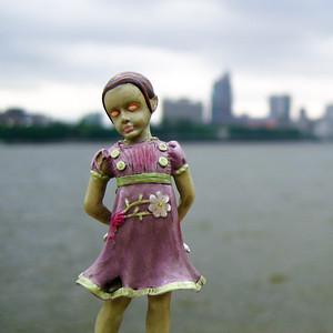 Little Sister in Guangzhou, China