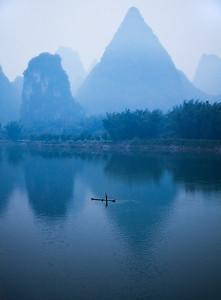 View from Yangshuo Bridge