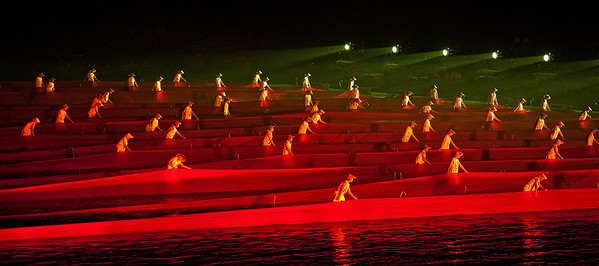 The largest water show in the World: Impression Sanjie Liu