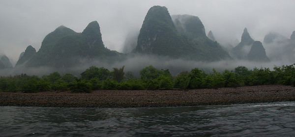 karsts-fog-guilin-china