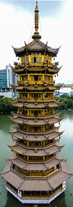 The Sun Pagoda, Guilin, China