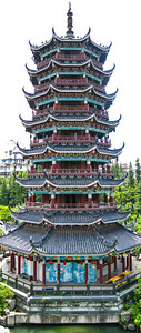 The Moon Pagoda, Guilin, China
