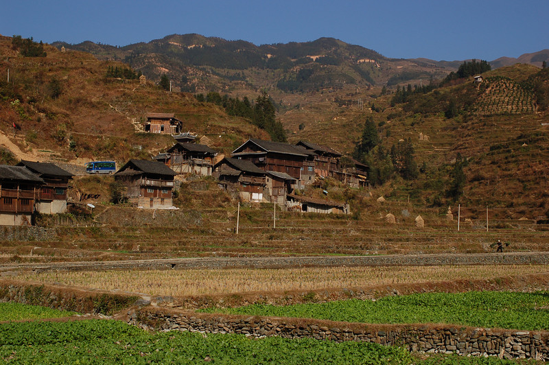 The outskirts of Zhaoxing