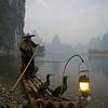 Fishermen at Li River, Guilin, China
