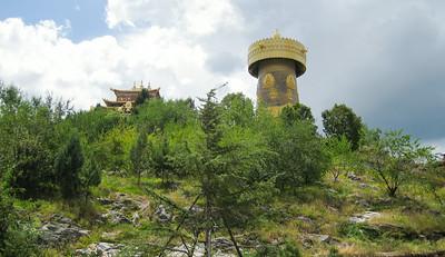 Temple, Jiantang Town, China
