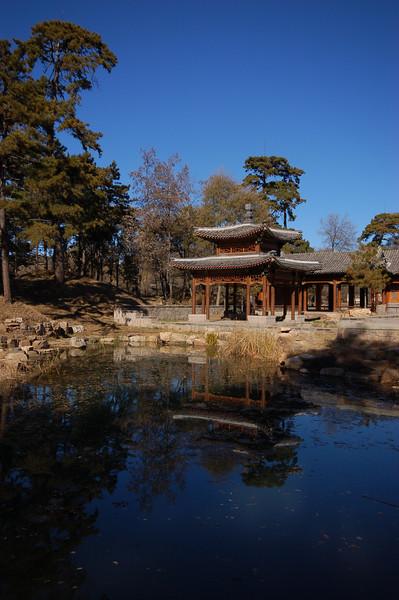 A quiet pavilion