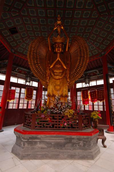 Thousand armed and eyed Buddha.