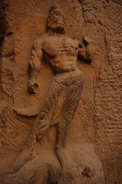 A muscular sculpture