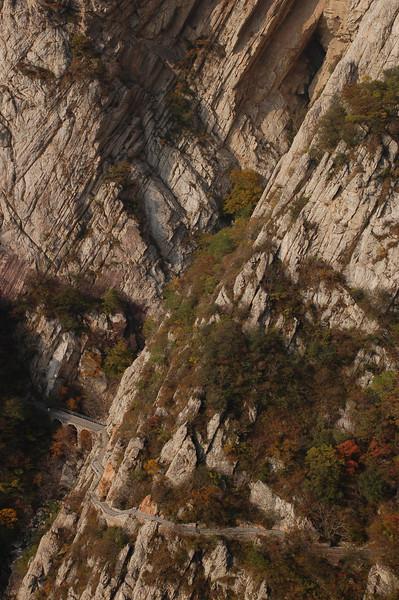 The Song Mountain walkway