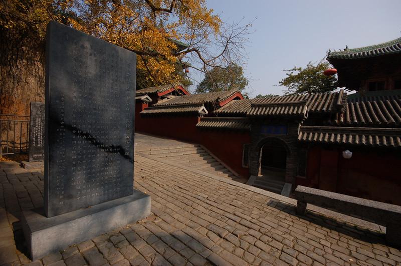 Autumn at Shaolin Temple