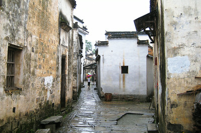 Backstreets--Hongcun Village, China