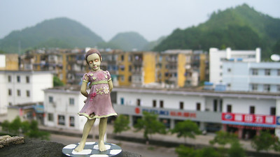 Little Sister in Tunxi, China