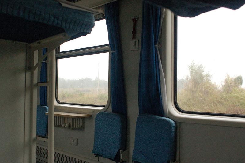 Sleeper train cabin