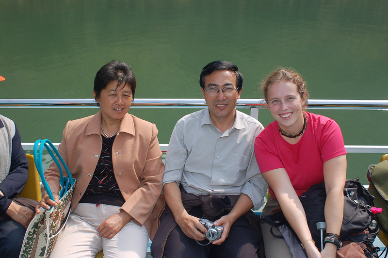 Our cabin mates Li and Yao