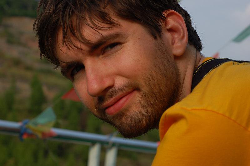 Yann on the upper deck