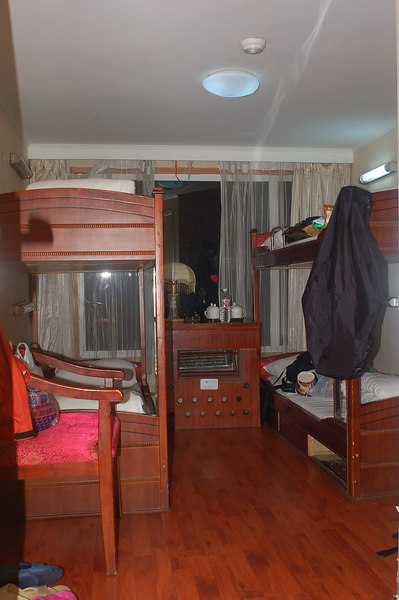 Our shared cabin