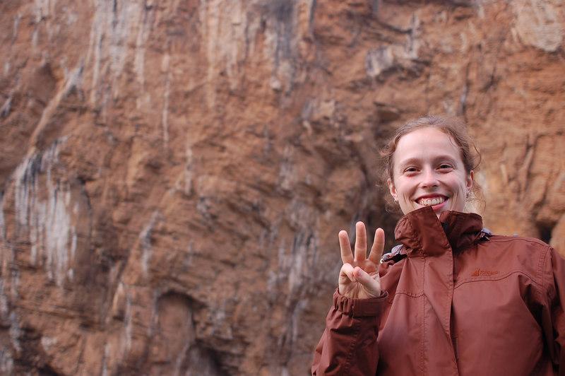 Emilie in Yangtze three gorges