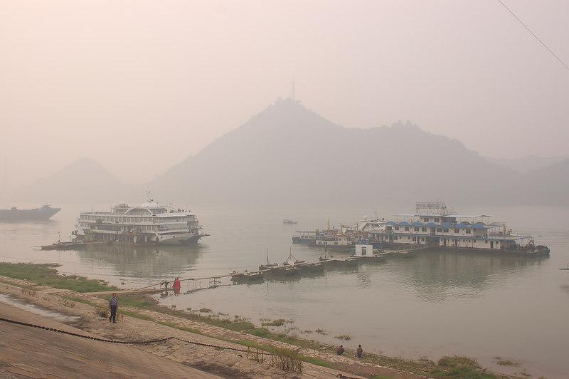 Ferries on the Yangtze