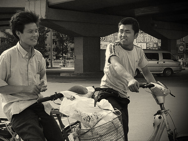 Bicyclists, Beijing