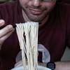 Hand-made noodles at a Hui noodle shop