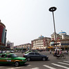 The busy streets of Hohhot