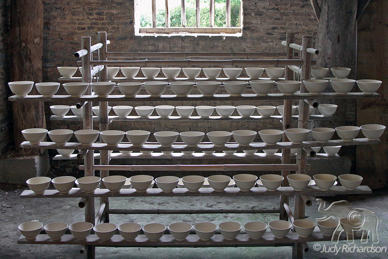Porcelain drying racks