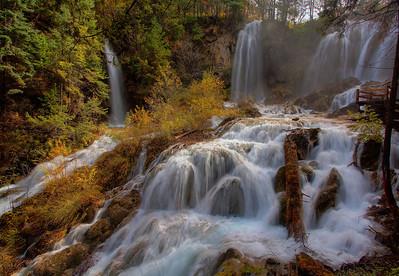 Panda Waterfall