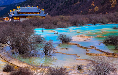 Huanglong, Sichuan, China