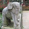 Elephant at the Bamboo Temple.
