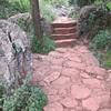 Nice little stony path at Xishan.