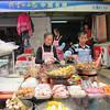 Food stall at Xishan.