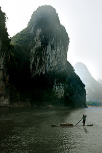 Chinese karsts along the Li River, Guilin & Yangshou, China, Chinese karsts along the Li River, Guilin & Yangshou, China
