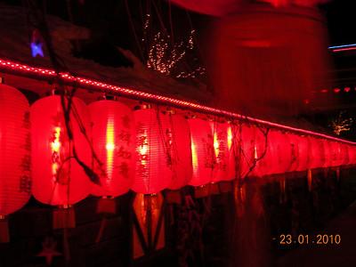 lanternes et lampions à perte de vue ...