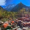 Red rocks in BiPengGou (毕棚沟)