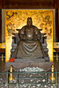Buddha image in the Ming Tomb Museum in Beijing, China.