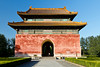 The south entrance to the Sacred Way at the Ming Tombs in Beijing, China.