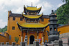 Qiyuansi, or Tending Garden Monastery, is the largest of the Jiuhuashan temples
