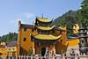 Qiyuansi, or Tending Garden Monastery, is a Jiuhuashan temple