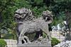 Lion at Dabeilou Temple