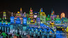 Overview of the Harbin Ice Festival, China