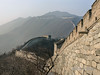 Air pollution from Beijing at the Mutianyu Great Wall, China
