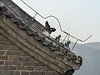 Detail of a watch tower on the Mutianyu Great Wall, China