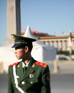 Soldier, Tian'An Men Square, Beijing, China