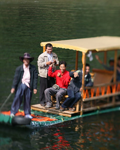 Boat Ride, Lijiang River, near Yang Shuo, China