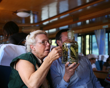 Wanda and Snake Bile Wine, Lijiang River Boat, China