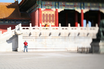 Craig, Forbidden City, Beijing, China