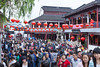 Street scene in the water village of Qibao, China, Asia.