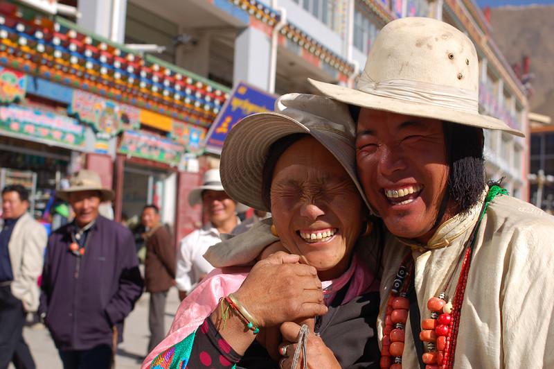 Happy Tibetans